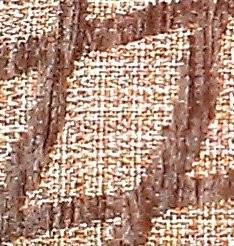 Tela cuadrícula marrón