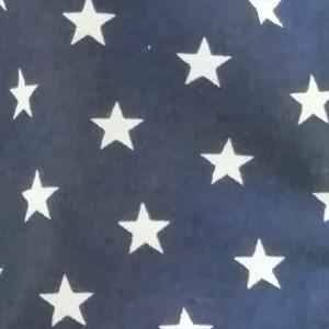 Tela blava estrelles